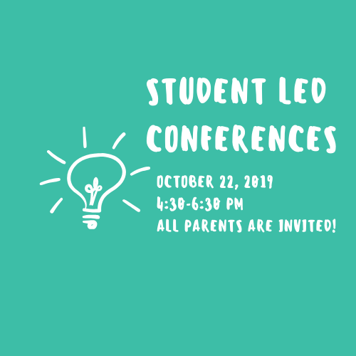 Student Led conferences 2019